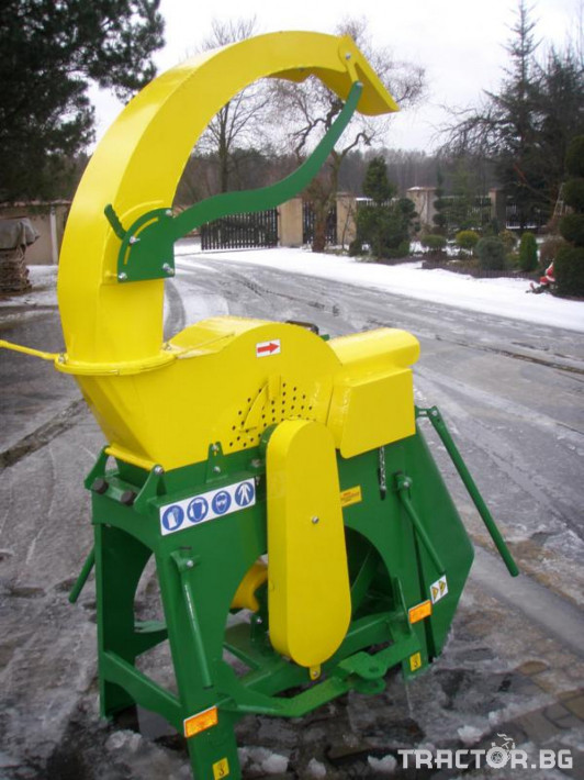 Машини за лозя / овошки Шредер-Дробилка на клони R-16 до 7 см. 0