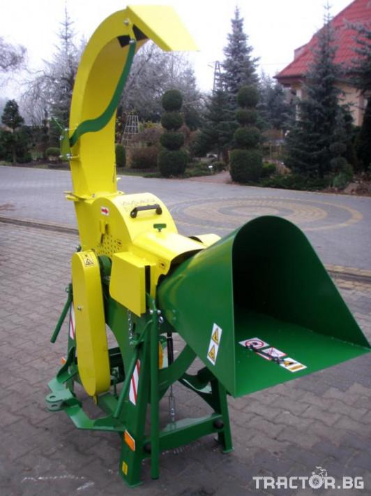 Машини за лозя / овошки Шредер-Дробилка на клони R-16 до 7 см. 1