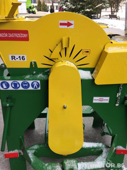Машини за лозя / овошки Шредер-Дробилка на клони R-16 до 7 см. 6