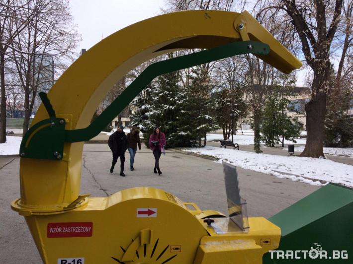 Машини за лозя / овошки Шредер-Дробилка на клони R-16 до 7 см. 7