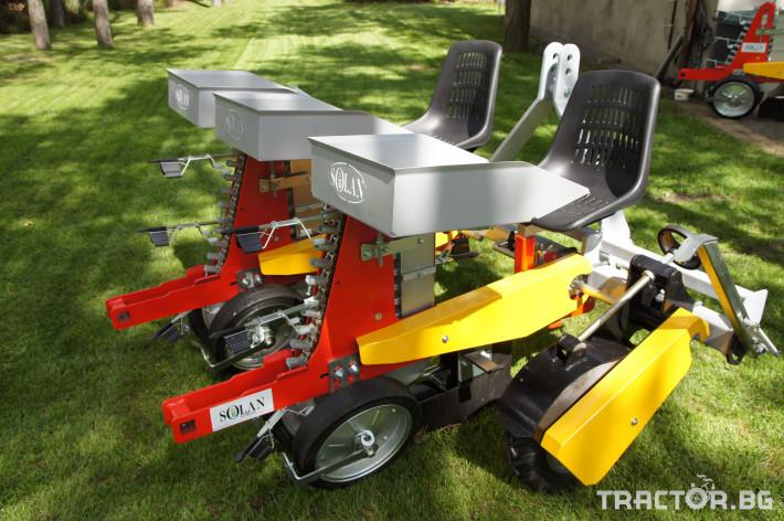 Сеялки Продаваме Разсадо-посадачни машини с полуавтоматичен захват 0