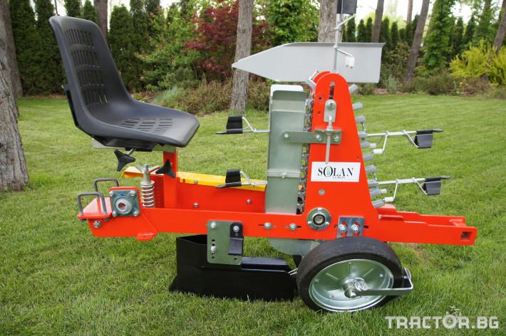 Сеялки Продаваме Разсадо-посадачни машини с полуавтоматичен захват 4
