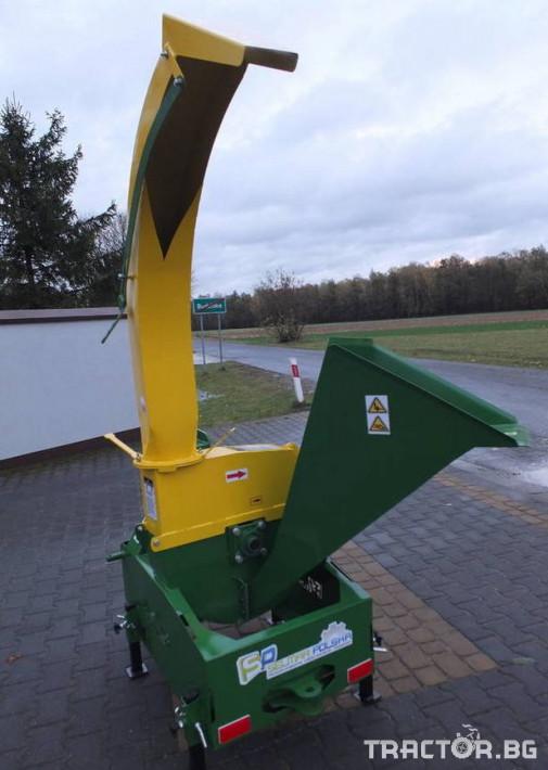 Машини за лозя / овошки Шредер-Дробилка на клони R-17 до 12 см. 0 - Трактор БГ