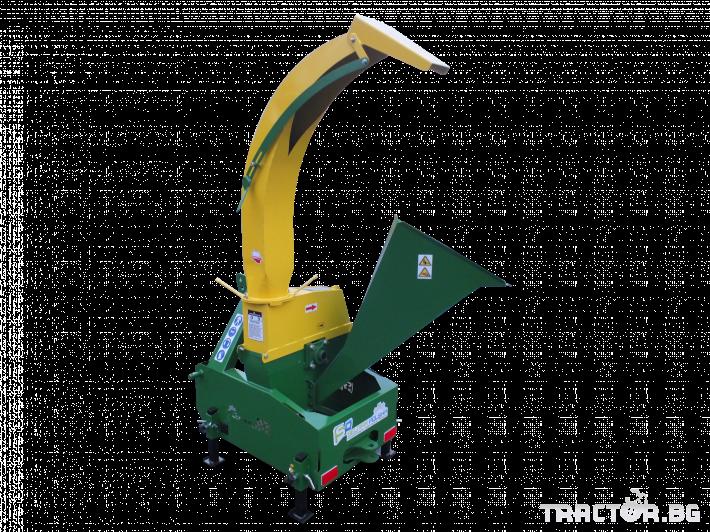 Машини за лозя / овошки Шредер-Дробилка на клони R-17 до 12 см. 1 - Трактор БГ