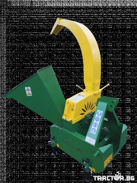 Машини за лозя / овошки Шредер-Дробилка на клони R-17 до 12 см. 2 - Трактор БГ