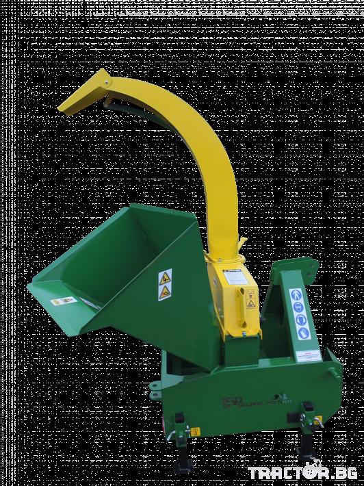 Машини за лозя / овошки Шредер-Дробилка на клони R-17 до 12 см. 3 - Трактор БГ