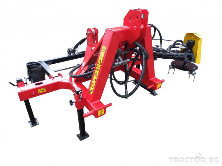 Машини за лозя / овошки Овощарска фреза с автоматично хидравлично отклоняваща секция 4