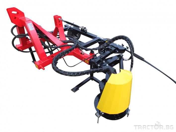 Машини за лозя / овошки Овощарска фреза с автоматично хидравлично отклоняваща секция 6