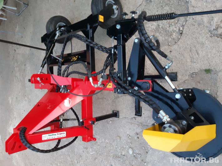 Машини за лозя / овошки Овощарска фреза с автоматично хидравлично отклоняваща секция 2