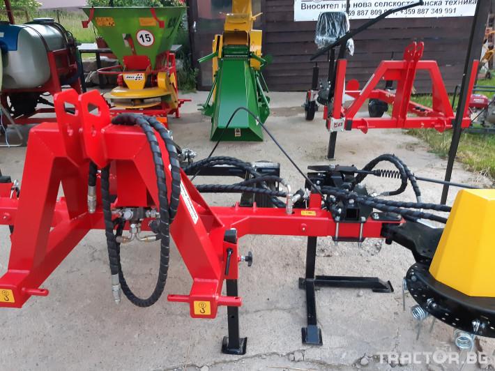 Машини за лозя / овошки Овощарска фреза с автоматично хидравлично отклоняваща секция 1