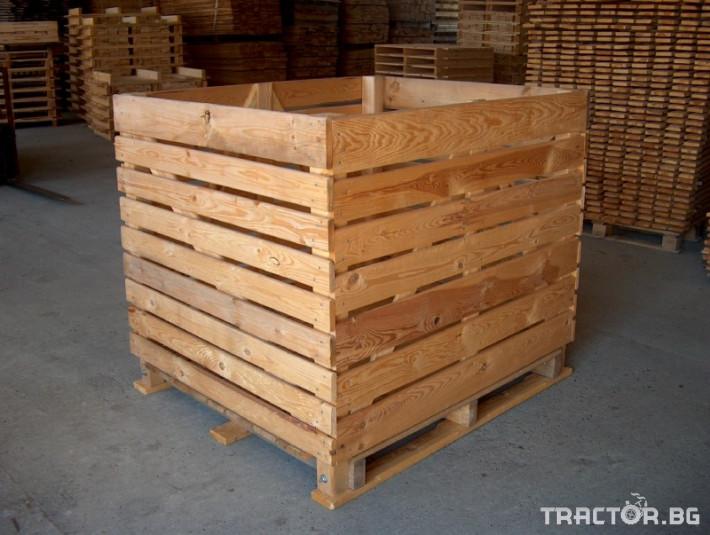 Други Продаваме висококачественни дървени бокс палети 0