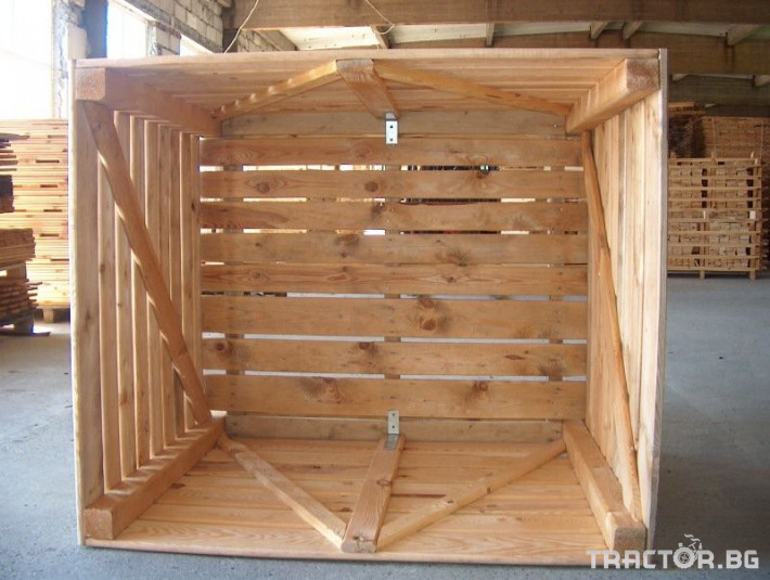 Други Продаваме висококачественни дървени бокс палети 1