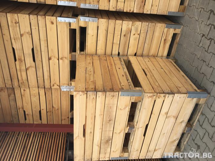 Други Продаваме висококачественни дървени бокс палети 5