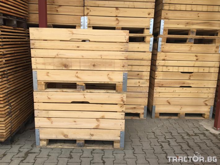Други Продаваме висококачественни дървени бокс палети 7